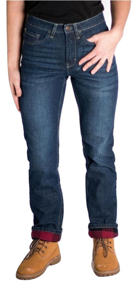 Women's Flannel Lined Jeans