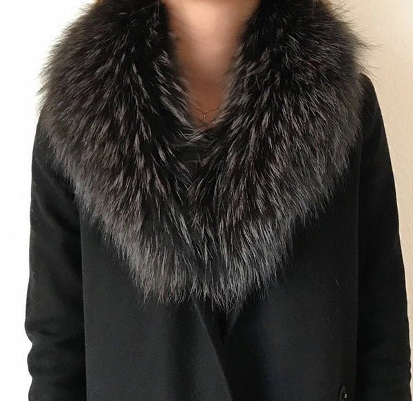 Fur dark grey