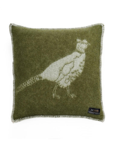 'Pheasant' Cushion Cover 45 x 45cm by JJ Textile