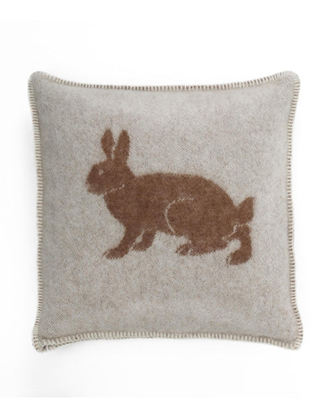 'Rabbit' Cushion Cover 45 x 45cm by JJ Textile