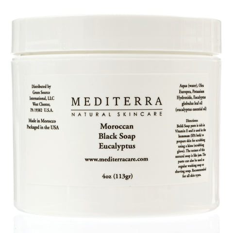 Mediterra Moroccan Black Soap 5.2oz