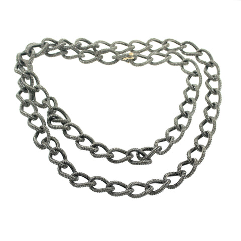 Diamond link chain