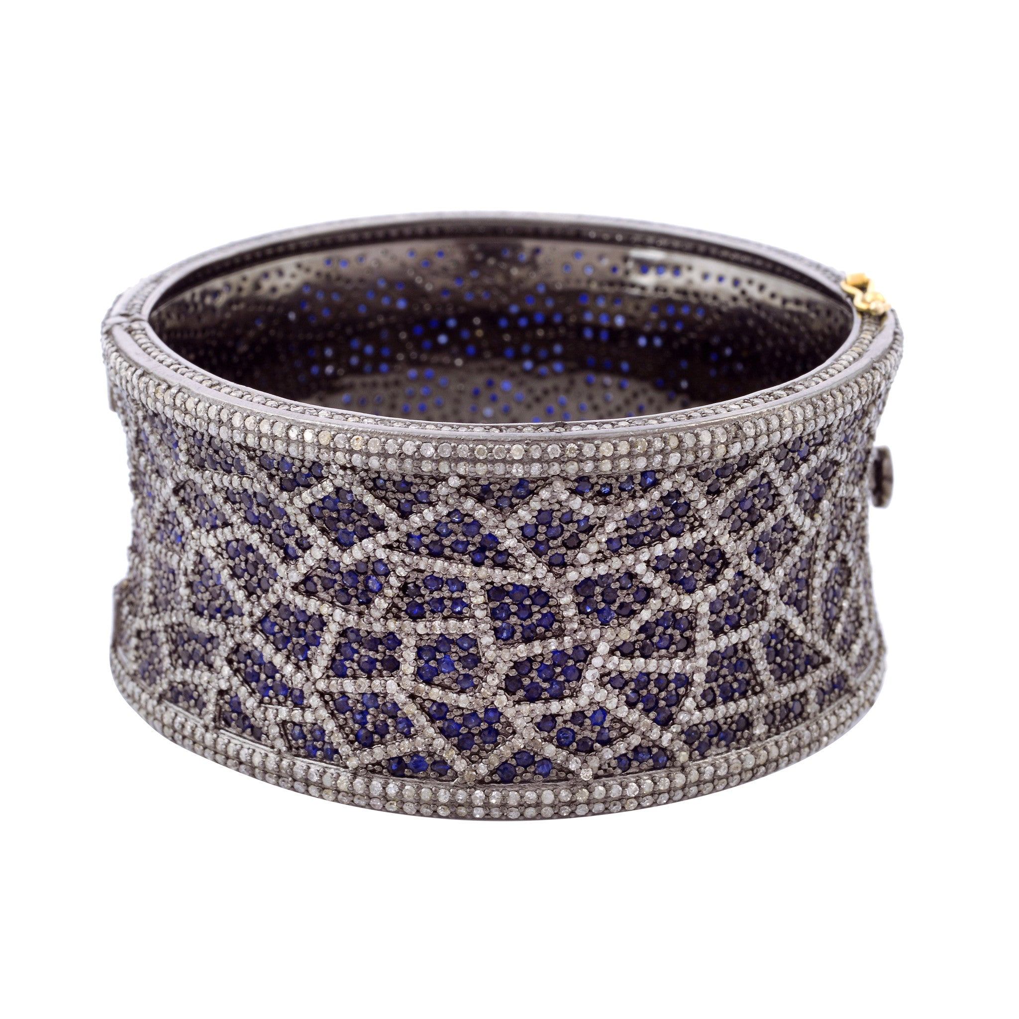 ladies normal pave product gallery metallic mk michael lyst pav in logo jewelry bangle bangles kors
