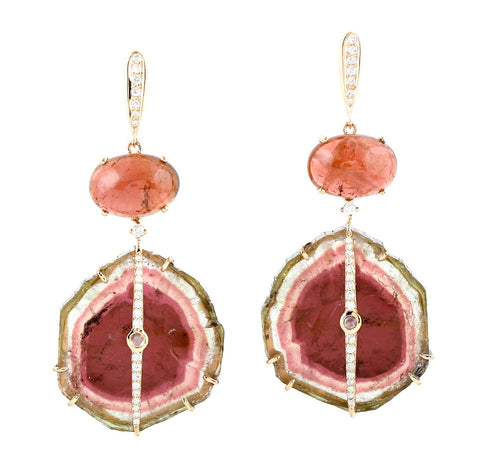 Noble Tourmaline Earrings