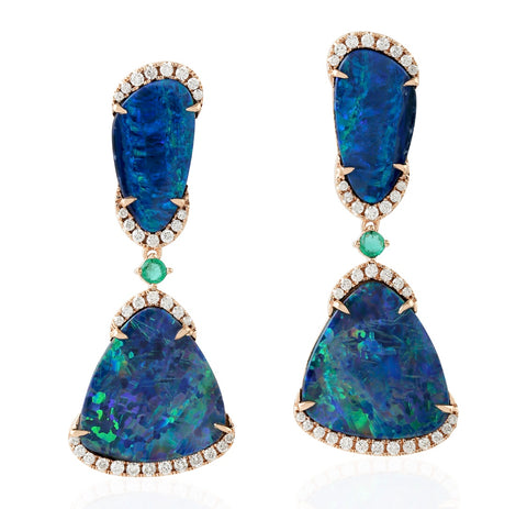 Noble Opal Earrings