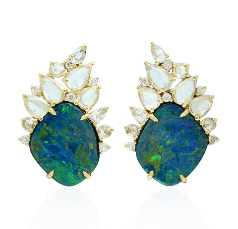 Ritzy Opal Earrings