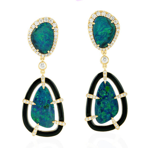 Opal Delight Earrings