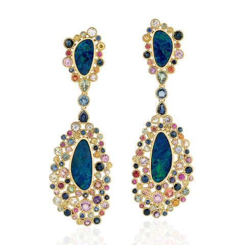 Opal Carnival Earrings