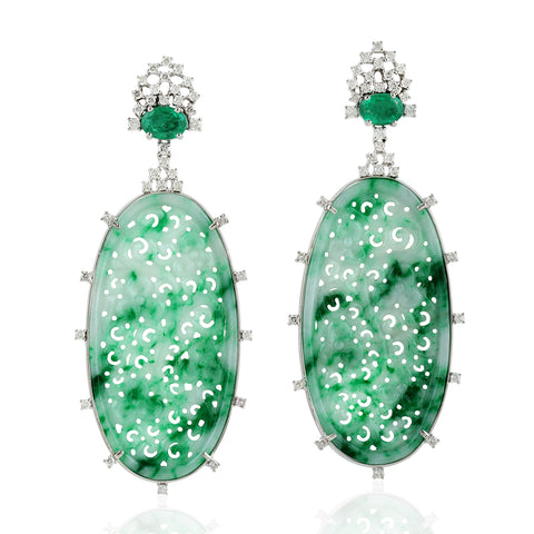 Jade Princess Earrings
