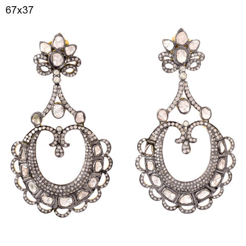 Estate Diamond Lace Earring