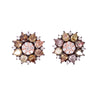 Ice Diamond Flower Stud