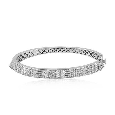 Diamond Spike Bangle