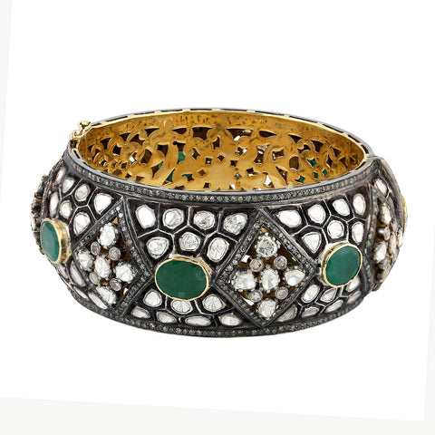 Imperial Emerald Bangle