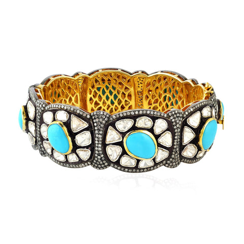 Monarch Turquoise Bangle