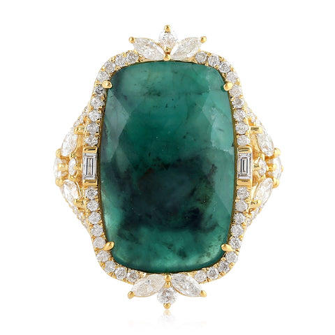 Empress Emerald Ring