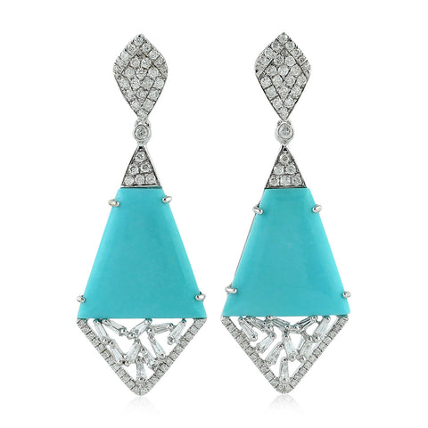 Regal Turquoise Earring
