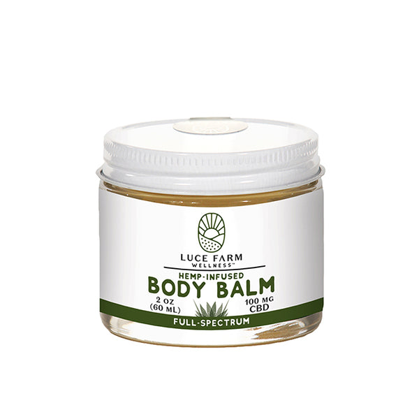 Hemp-Infused Body Balm | Luce Farm