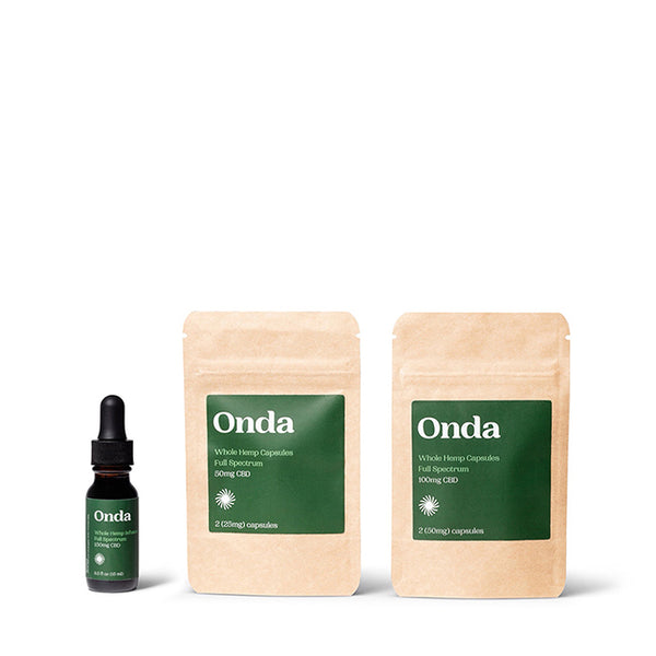 CBD Starter Kit | Onda Wellness