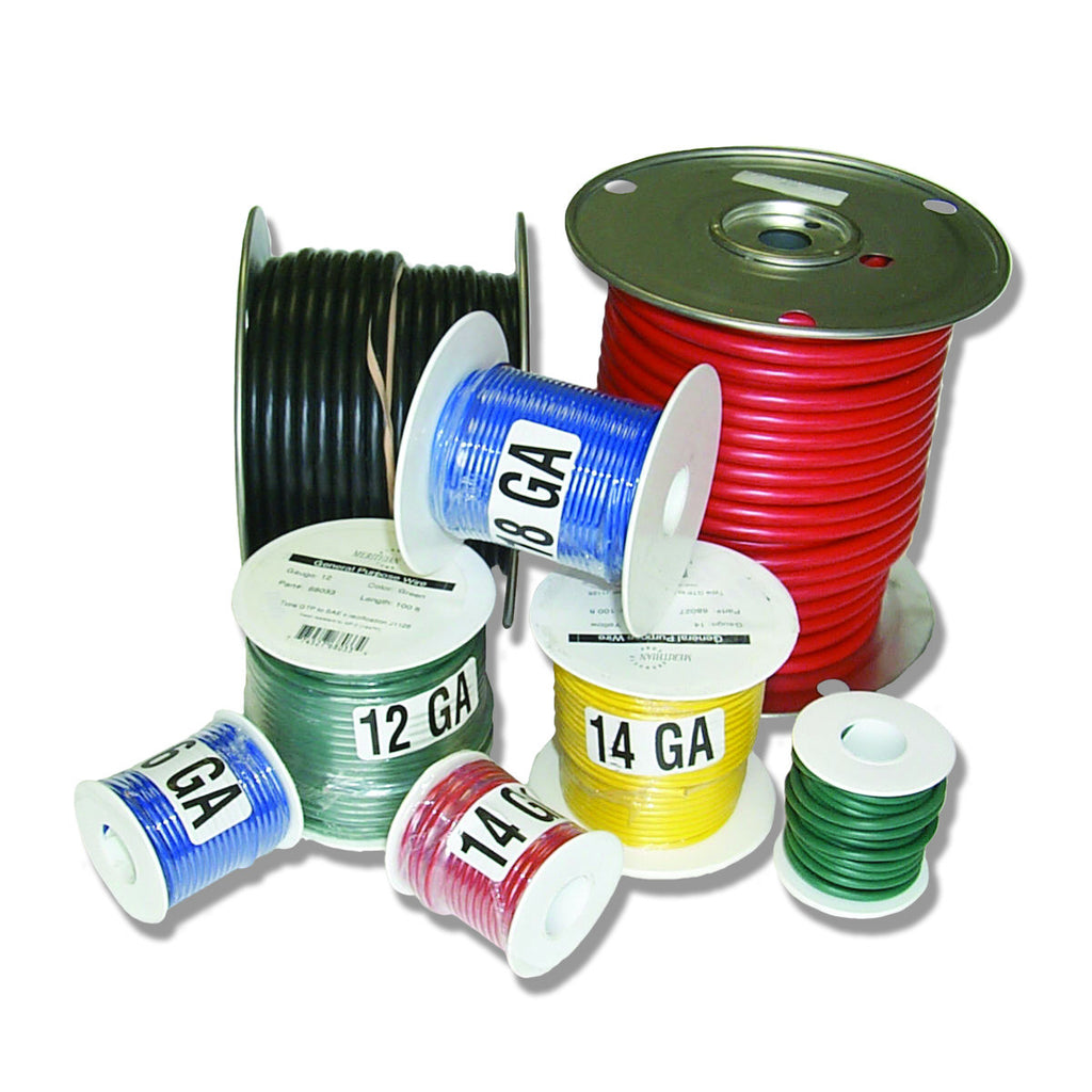 General Purpose Wire - 100' Spools