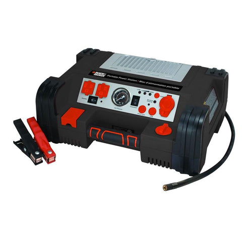 BLACK+DECKER 500-Watt Portable Power Station