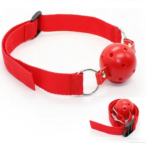 Gag Ball simples Red - BdsmGlobal