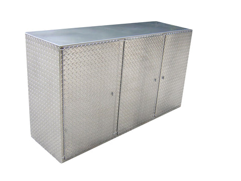 Diamond Plate Base Cabinet 6 Ft