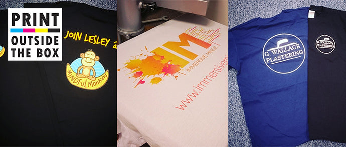 Personalised T-Shirts- Three types of personalised T shirt