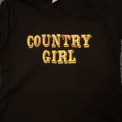 Personalised T shirt Country girl