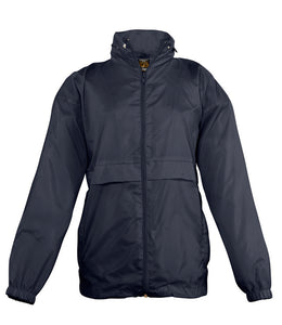 Full Zipped Lightweight Rain Jacket