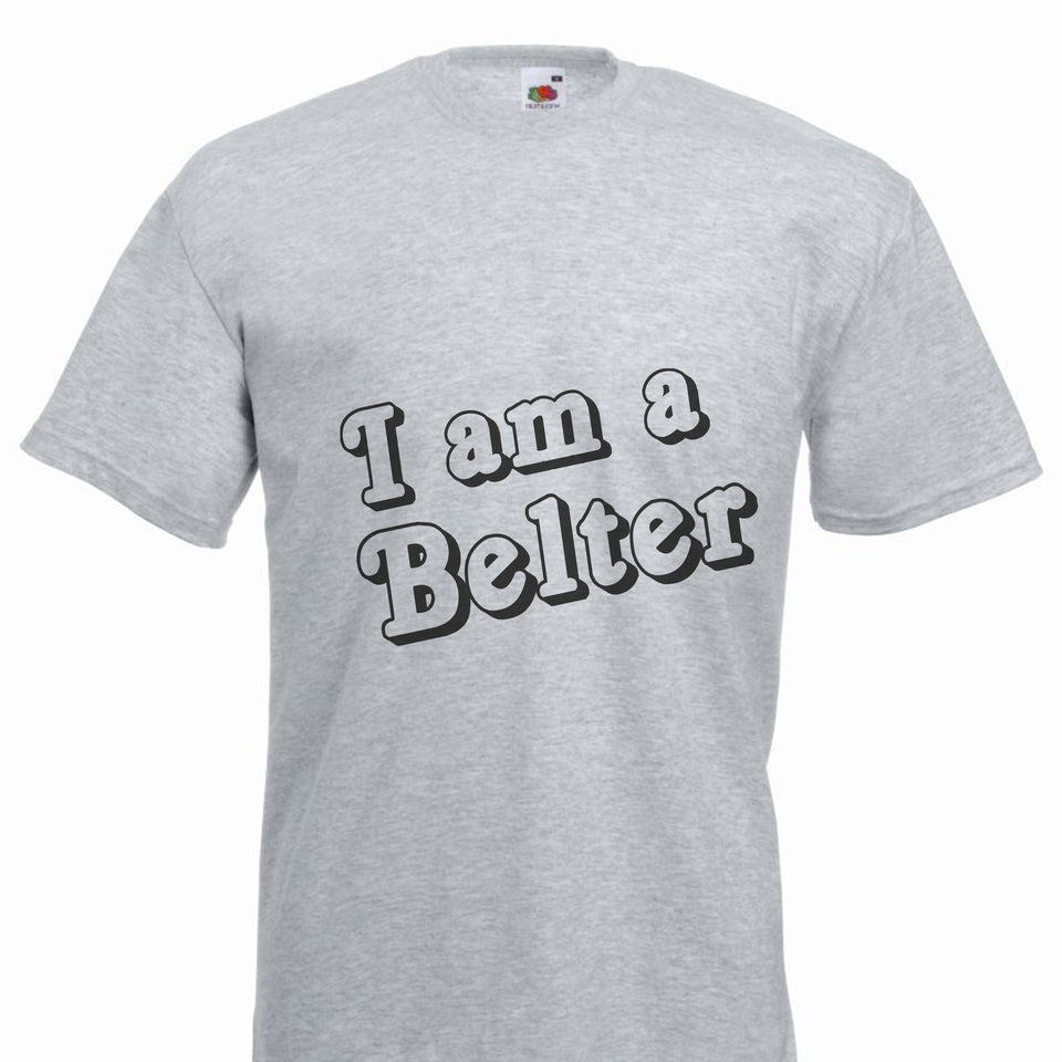 Gerry Cinnamon T-shirt Ladies - I am a Belter
