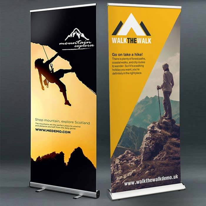 Printed Roller Banners