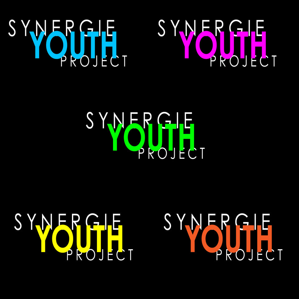 Synergie Youth Project T shirt SYP Design