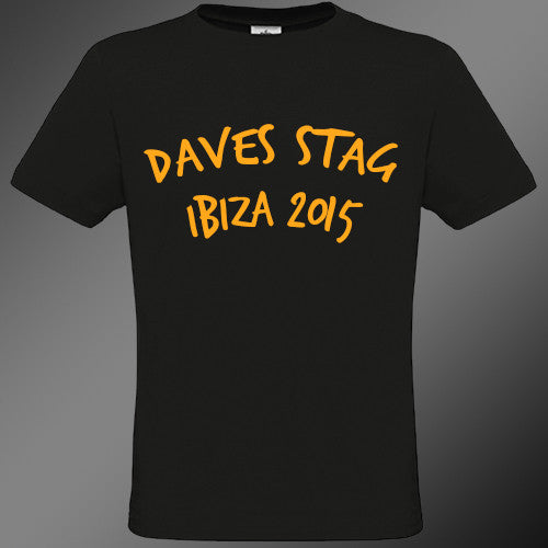 Personalised Stag T-Shirt