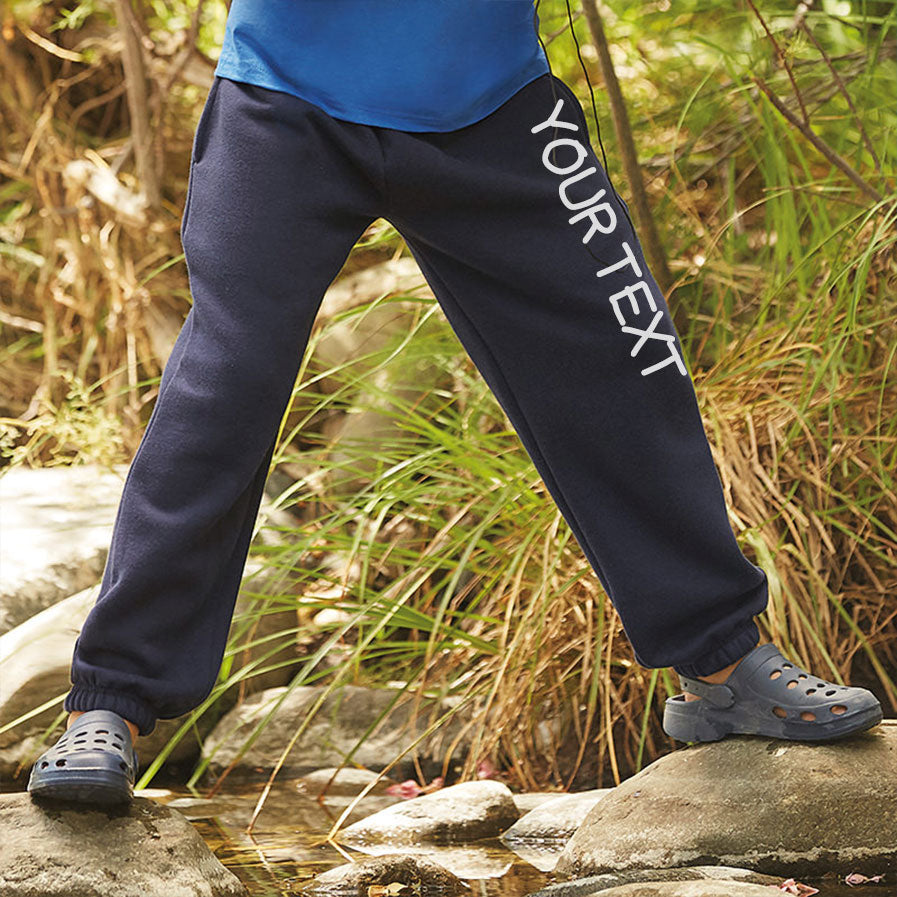 Personalised Jogger Bottoms