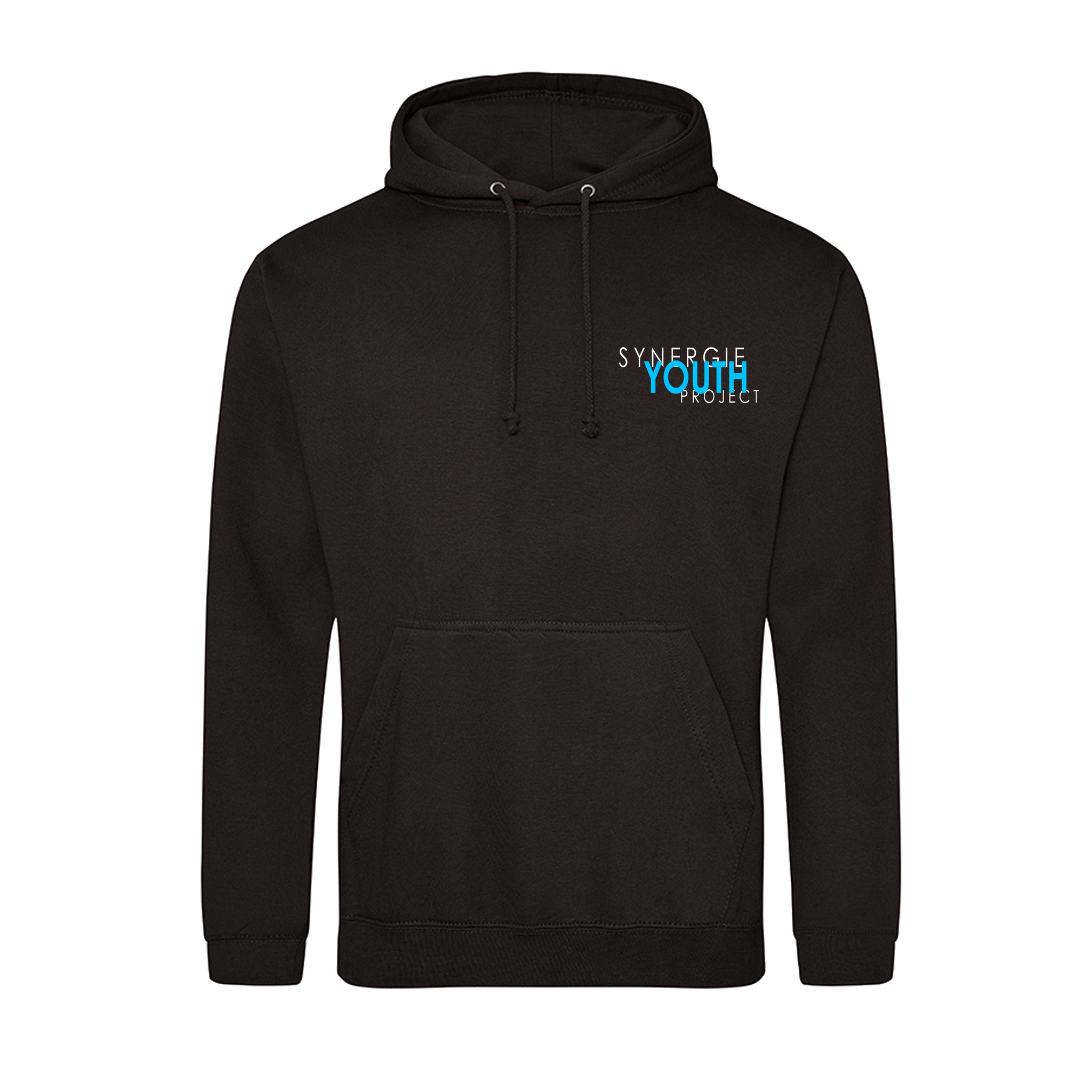 Synergie Youth Project Hoodie Standard Logo Design