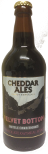 Cheddar Ales - Velvet Bottom (Chocolate Oatmeal Stout) 4.7% - 500ml
