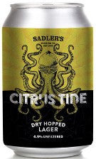 Sadlers - Citrus Tide Dry Hopped Lager 4.5% - 330ml Can