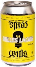 Brass Castle - Helles Lager (Can) 4.4% - 330ml