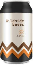 Brightside - Cafe Miel Coffee Stout 4.8% - 330ml CAN