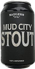 Sadlers - Mud City Stout 6.6% - 330ml Can