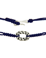 ROPE Armband silber