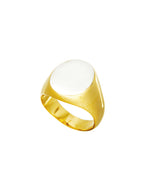 IRVING Ring silber gold