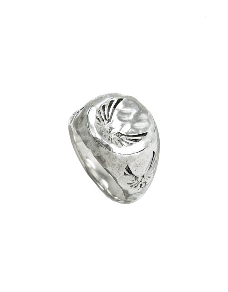 Traces Ring silber