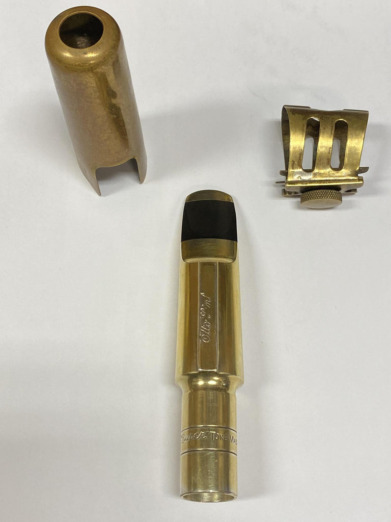 Used Otto Link Baritone Metal Mouthpiece (80s) 9
