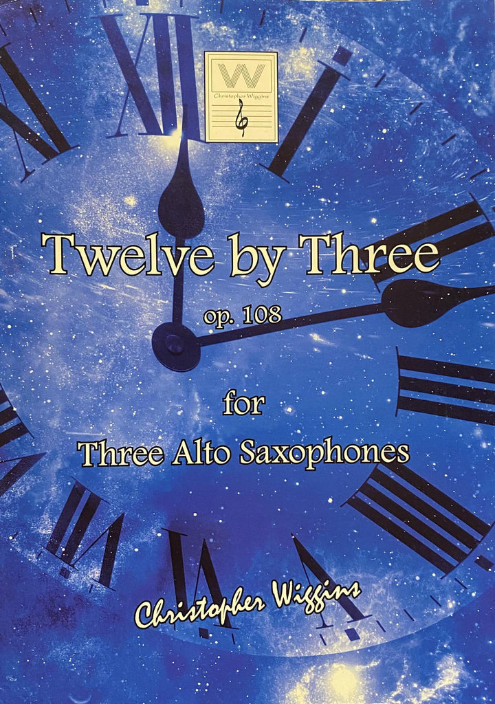Twelve by Three op. 108