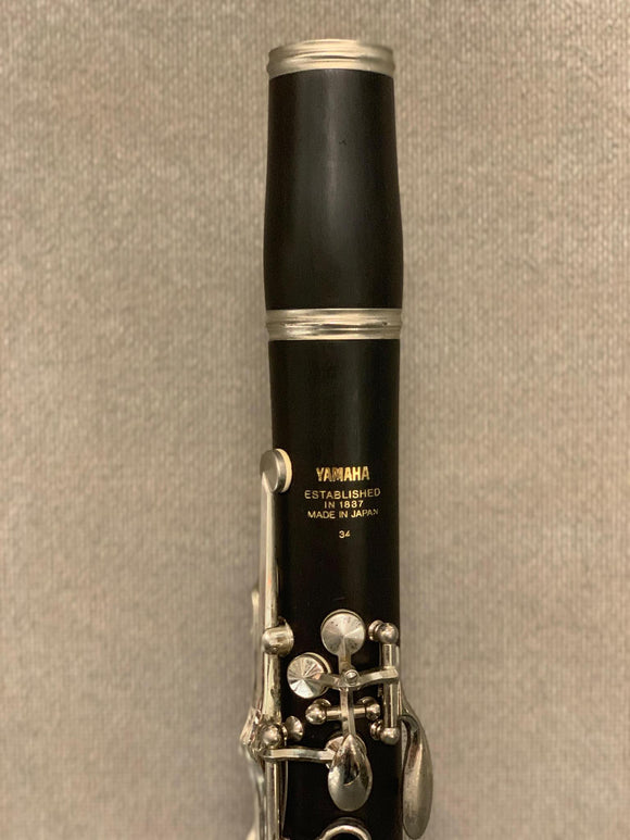 Yamaha Model 34 Bb Clarinet Ser#040,XXX JO