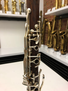 Rossi 1-Piece Rosewood #A586 Bb Clarinet AC