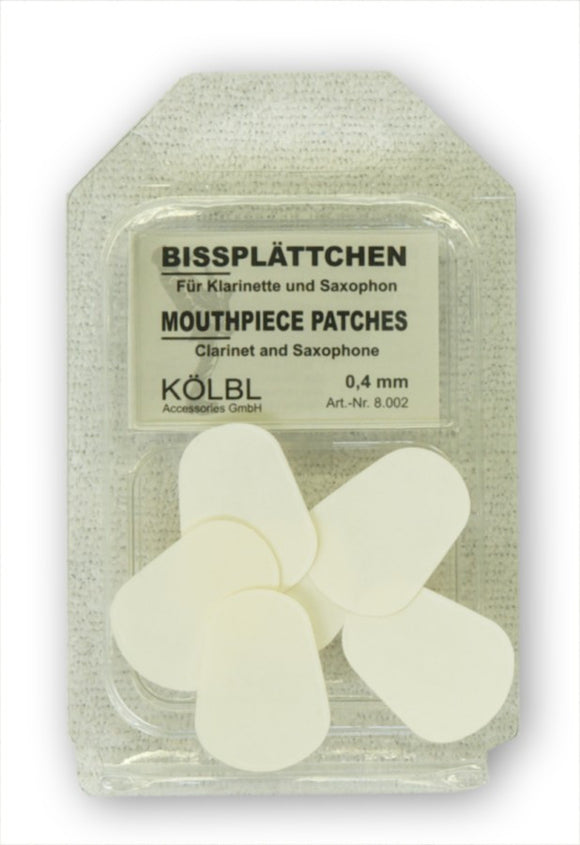 Kolbl Mouthpiece Patches