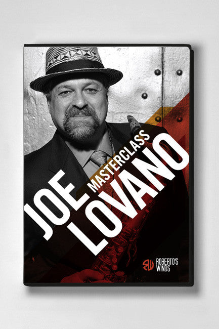 Roberto's Winds Masterclass DVD - Joe Lovano