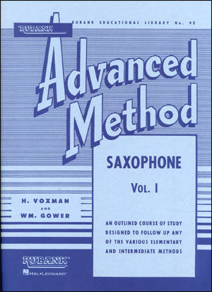 Rubank Advanced Method for Saxophone Vol. 1